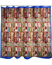 Yesteryear Advent Calendar Shower Curtain thumbnail