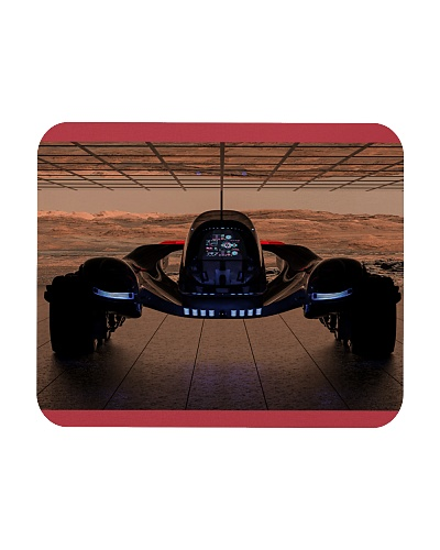 Fantasy Space Truck Mouse Pads Posters