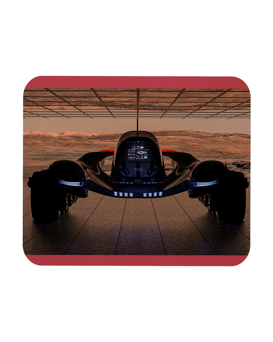 Fantasy Space Truck Mouse Pads Posters  Mousepad