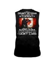 I'm A Grumpy Veteran - I Love My Family Sleeveless Tee thumbnail