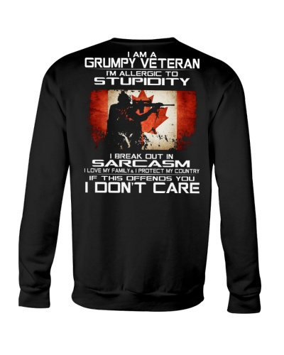 I'm A Grumpy Veteran - I Love My Family