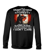 I'm A Grumpy Veteran - I Love My Family Crewneck Sweatshirt thumbnail