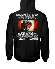 I'm A Grumpy Veteran - I Love My Family Hooded Sweatshirt tile