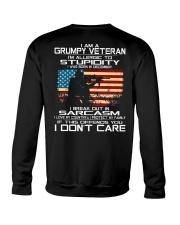 I'm A Grumpy Veteran - I Love My Country Crewneck Sweatshirt thumbnail