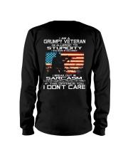 I'm A Grumpy Veteran - I Love My Country Long Sleeve Tee thumbnail