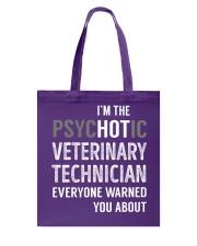 Veterinary Technician Tote Bag thumbnail