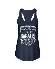 KARALIS - Handle It Ladies Flowy Tank thumbnail