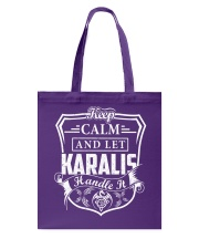 KARALIS - Handle It Tote Bag thumbnail