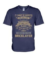 Bricklayer V-Neck T-Shirt thumbnail