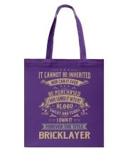 Bricklayer Tote Bag thumbnail