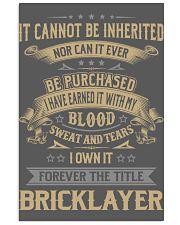 Bricklayer 11x17 Poster thumbnail