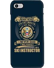 Ski Instructor Phone Case thumbnail