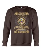 Ski Instructor Crewneck Sweatshirt thumbnail