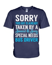 Special Needs Bus Driver V-Neck T-Shirt thumbnail