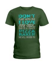 Pizza Baker Ladies T-Shirt thumbnail