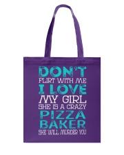 Pizza Baker Tote Bag thumbnail