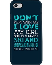 Ski and Snowboard Instructor Phone Case thumbnail
