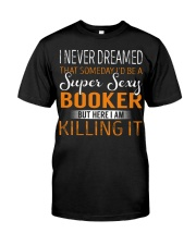 Booker Classic T-Shirt front