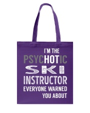 Ski Instructor Tote Bag tile