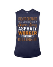 Asphalt Worker Sleeveless Tee thumbnail