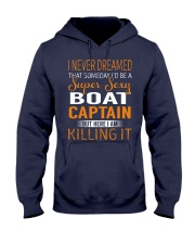 Boat Captain Hooded Sweatshirt thumbnail