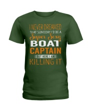 Boat Captain Ladies T-Shirt thumbnail