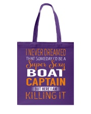 Boat Captain Tote Bag thumbnail