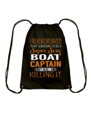 Boat Captain Drawstring Bag thumbnail