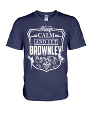 BROWNLEY - Handle It V-Neck T-Shirt thumbnail