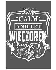 WIECZOREK - Handle It 11x17 Poster thumbnail