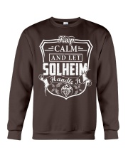 SOLHEIM - Handle It Crewneck Sweatshirt thumbnail