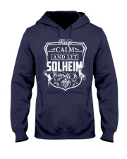 SOLHEIM - Handle It Hooded Sweatshirt thumbnail