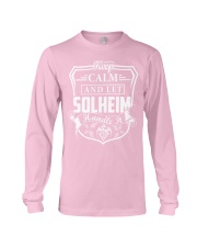 SOLHEIM - Handle It Long Sleeve Tee thumbnail