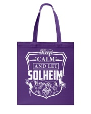 SOLHEIM - Handle It Tote Bag thumbnail