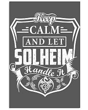 SOLHEIM - Handle It 11x17 Poster thumbnail