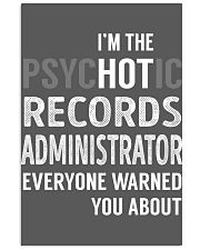 Records Administrator 11x17 Poster thumbnail