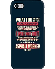 Asphalt Worker Phone Case thumbnail