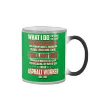 Asphalt Worker Color Changing Mug thumbnail