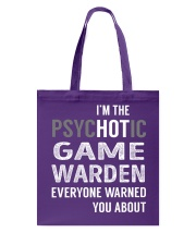 Game Warden Tote Bag thumbnail