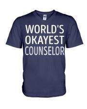Counselor V-Neck T-Shirt thumbnail