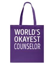 Counselor Tote Bag thumbnail