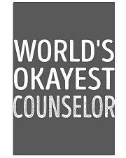 Counselor 11x17 Poster thumbnail