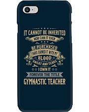 Gymnastic Teacher Phone Case thumbnail