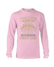 Gymnastic Teacher Long Sleeve Tee thumbnail