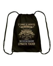Gymnastic Teacher Drawstring Bag thumbnail