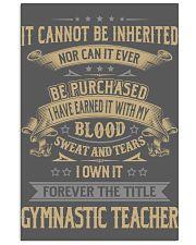 Gymnastic Teacher 11x17 Poster thumbnail