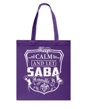 SABA - Handle It Tote Bag thumbnail