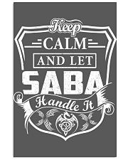 SABA - Handle It 11x17 Poster thumbnail