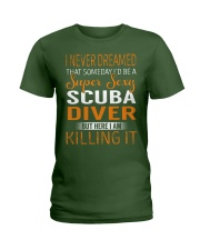 Scuba Diver Ladies T-Shirt thumbnail
