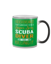 Scuba Diver Color Changing Mug thumbnail